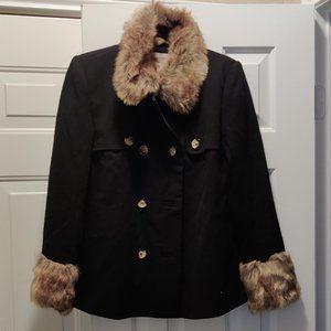 new black f21 coat